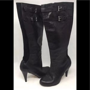 Cole Haan Black Leather Boots Size 9